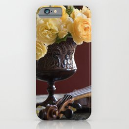 Fragrant Melodies iPhone Case