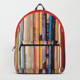 Indie Rock Vinyl Records Backpack