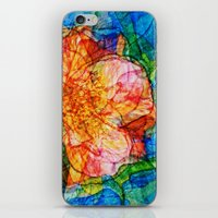 reassurance iPhone & iPod Skins featuring Flower III by Magdalena Hristova