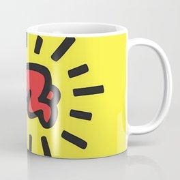 Inspired to Keith Haring Coffee Mug