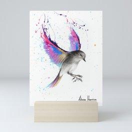 September Sunset Bird Mini Art Print