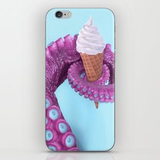 OCTOPUS ICE CREAM iPhone & iPod Skin