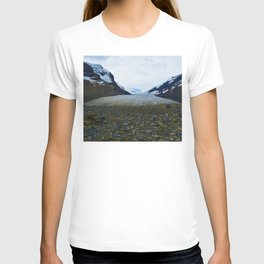 Columbia Icefields in Jasper National Park, Canada T-shirt