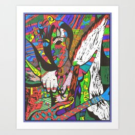 "WIIP™,""49 Days"" (Reboot) (1988,2015) Art Print"