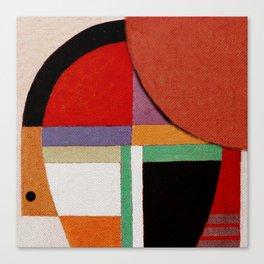 Женщина, яблоко, со змеем (Woman, an apple and the serpent) Canvas Print