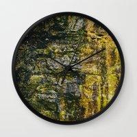 moss Wall Clocks featuring Moss by Jillian VanZytveld