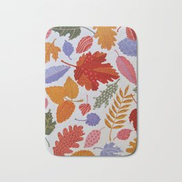 AUTUMN LEAVES,PLEASE Bath Mat