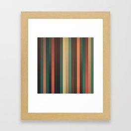 Fall(ing) Framed Art Print