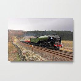 60163 Tornado at Blea Moor Metal Print