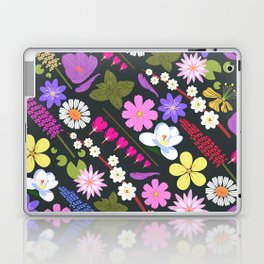Flowers and mint Laptop & iPad Skin