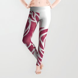 "Charles Rennie Mackintosh ""Roses"" (5) Leggings"