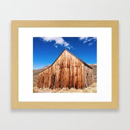 Ghost Town Stable, Bodie, CA Framed Art Print