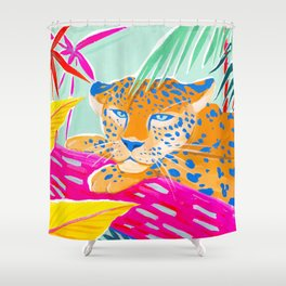 Vibrant Jungle Shower Curtain
