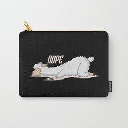 llama sleeps Carry-All Pouch