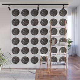 Cat Donut Wall Mural