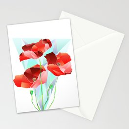 Poppies. Stationery Cards