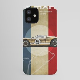 Le Mans Vintage GT40 iPhone Case