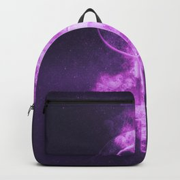 Dollar sign, Dollar Symbol. Monetary currency symbol. Abstract night sky background. Backpack