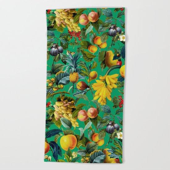 Fruit Pattern Beach Towel