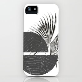 Contrast - Minimalism Mid-Century Modern Forms iPhone Case