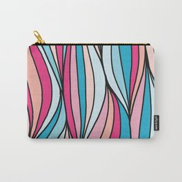 Colored abstract strips Carry-All Pouch