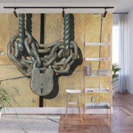 Locked Door Wall Mural