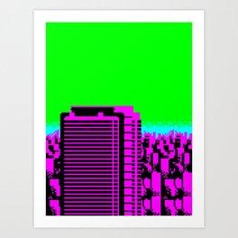 Cityscape #88 B Art Print
