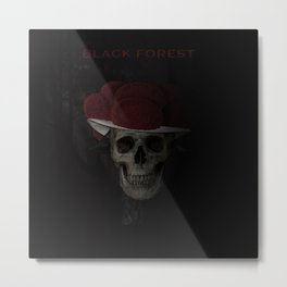 BLACK FOREST Metal Print