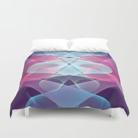 psychedelic art Duvet Covers featuring Psychedelic by Scar Design