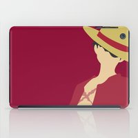 luffy iPad Cases featuring Luffy by Polvo
