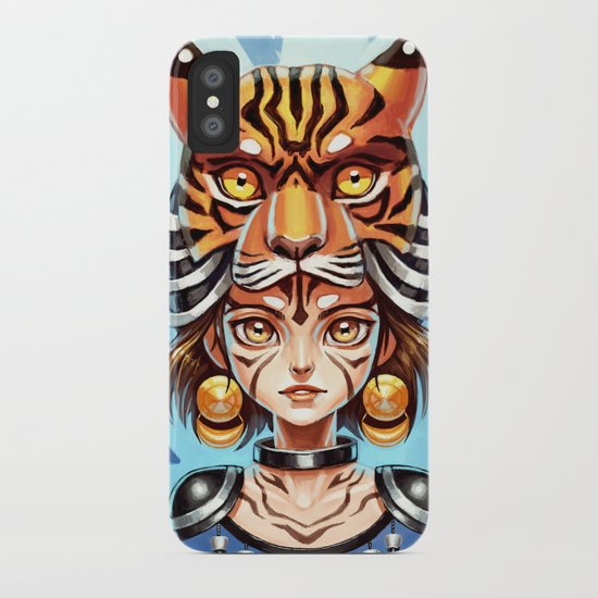 Tiger Tribe iPhone Case