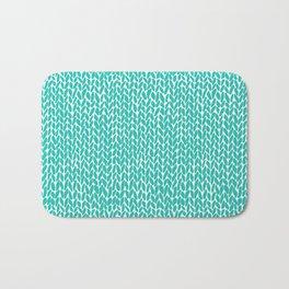 Hand Knit Aqua Bath Mat