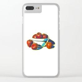 Deez Apples Clear iPhone Case