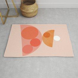 Abstraction_Balance_Round_Minimalism_001 Rug
