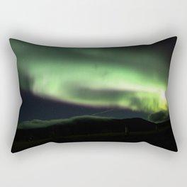 aurora borealis - 6 Rectangular Pillow