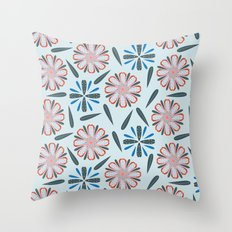 Modern Country Throw Pillow