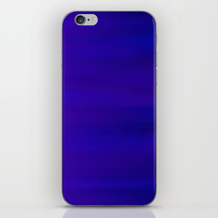 Ultra Violet to Indigo Blue Ombre iPhone Skin