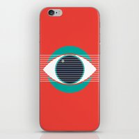evil eye iPhone & iPod Skins featuring Evil Eye by smoraes