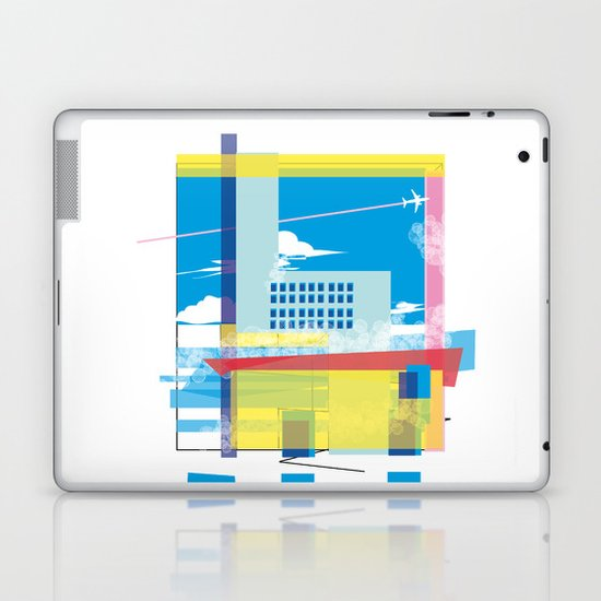 funky town Laptop & iPad Skin