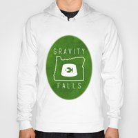 fez Hoodies featuring Gravity Falls - Grunkle Stan's Fez (Original) by pondlifeforme