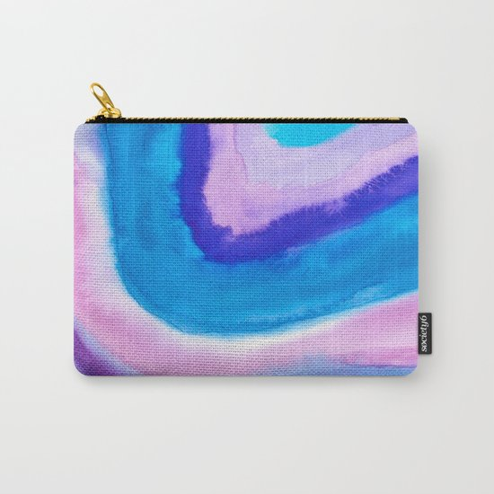 AGATE Inspired Watercolor Abstract 11 Carry-All Pouch