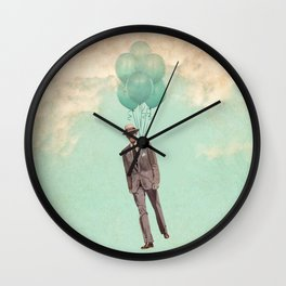 The light suit Wall Clock