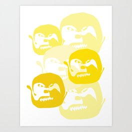 One line Art Print