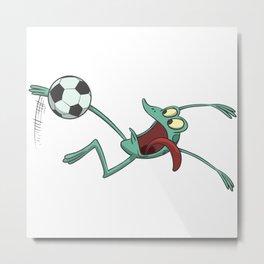 Football Backhoe Metal Print