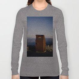 Miles high trash can Long Sleeve T-shirt