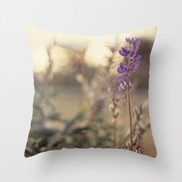 Purples Throw Pillow
