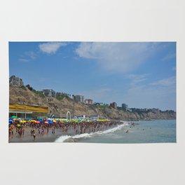Peruvian Beach Day  Rug