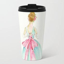 Big Pink Bow Travel Mug