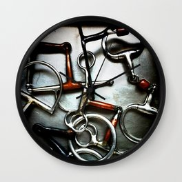 Bits and Pieces Wall Clock