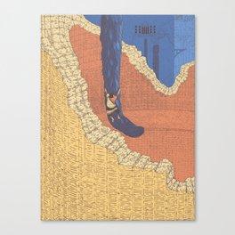 Climing Trico Canvas Print